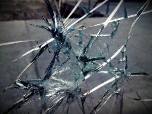 glass, broken, break
